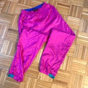 Columbia Vintage Retro Pink Track Pants